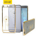 Olixar Dandelion iPhone 6S Plus / 6 Plus Shell Case - Gold / Clear