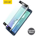 Olixar Galaxy S6 Edge Plus Curved Glass Screen Protector - Black