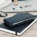 Olixar Genuine Leather Google Pixel Wallet Case - Black