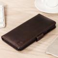 Olixar Genuine Leather iPhone 7 Plus Wallet Case - Brown