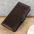 Olixar Genuine Leather iPhone 7 Wallet Case - Brown