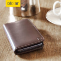Olixar Genuine Leather Samsung Galaxy S7 Wallet Case - Brown
