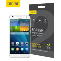 Olixar Huawei Ascend G7 Screen Protector 2-in-1 Pack