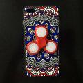 Olixar iPhone 7 Plus Fidget Spinner Pattern Case - Red / Blue