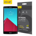 Olixar LG G4 Screen Protector 5-in-1 Pack