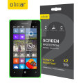 Olixar Microsoft Lumia 435 Screen Protector 2-in-1 Pack