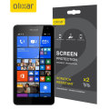 Olixar Microsoft Lumia 535 Screen Protector 2-in-1 Pack