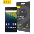 Olixar Nexus 6P Screen Protector 2-in-1 Pack