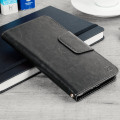 Olixar Rotating 5.5 Inch Leather-Style Universal Phone Case - Black