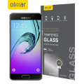 Olixar Samsung Galaxy A3 2016 Tempered Glass Screen Protector - Black