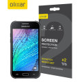 Olixar Samsung Galaxy J1 2015 Screen Protector 2-in-1 Pack
