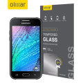 Olixar Samsung Galaxy J1 2015 Tempered Glass Screen Protector