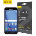 Olixar Samsung Galaxy J3 2016 Screen Protector 2-in-1 Pack