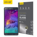 Olixar Samsung Galaxy Note 4 Tempered Glass Screen Protector