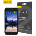 Olixar Samsung Galaxy S6 Active Screen Protector 2-in-1 Pack