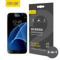 Olixar Samsung Galaxy S7 Screen Protector 2-in-1 Pack
