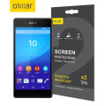 Olixar Sony Xperia Z3+ Screen Protector 2-in-1 Pack