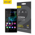 Olixar Wiko Ridge 4G Screen Protector 2-in-1 Pack