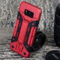 Olixar X-Trex Samsung Galaxy S8 Plus Rugged Card Case - Red / Black