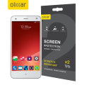 Olixar ZTE Blade S6 Screen Protector 2-in-1 Pack