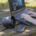 Oroshi Smart Quiet USB Powered Premium Desk Fan - Black