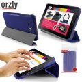 Orzly Samsung Galaxy Tab 3 Lite 7.0 Slim Rim Case - Blue