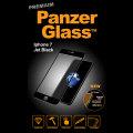 PanzerGlass Premium iPhone 7 Glass Screen Protector - Jet Black
