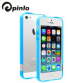Pinlo BLADEdge Bumper Case for iPhone 5S / 5 - Transparent Blue