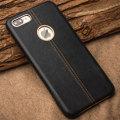 Premium Genuine Leather iPhone 7 Plus Case - Black