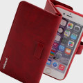 Prodigee Legacee iPhone 6S / 6 Eco-Leather Wallet Case - Ruby Red