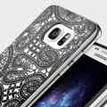 Prodigee Scene Galaxy S7 Edge Case - Black Lace