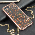 Prodigee Scene Treasure iPhone 7 Plus Case - Rose Gold Sparkle