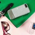 Prodigee Sparkle Fusion iPhone SE Glitter Case - Silver