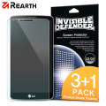 Rearth Invisible Defender LG G3 Screen Protector - 3 Pack