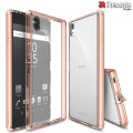Rearth Ringke Fusion Sony Xperia Z5 Premium Case - Rose Gold