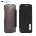 ROCK Elegant Side Flip Case for Motorola Moto X - Black