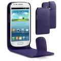 Samsung Galaxy S3 Mini Flip Case - Purple