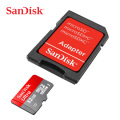 SanDisk 80MB/s 32GB microSDHC and Adapter - Class10