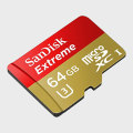 SanDisk Extreme Micro SDXC Card with SD Adapter - 64GB