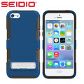 Seidio Dilex Case for iPhone 5C with Metal Kickstand - Royal Blue