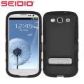 Seidio Dilex Case for Samsung Galaxy S3 with Kickstand - Black
