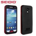 Seidio OBEX Waterproof Case for Galaxy S4 - Black / Red