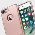 Seidio SURFACE iPhone 7 Plus Case & Metal Kickstand - Rose Gold