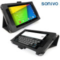 Sonivo Leather Style Case for Google Nexus 7 2013 - Black