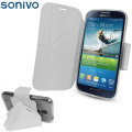 Sonivo Origami Case and Stand for the Samsung Galaxy S4 - White