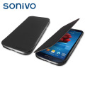 Sonivo Slim Wallet Case with Sensor for Samsung Galaxy S4 - Black