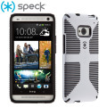 Speck CandyShell Grip for HTC One M7 - White