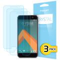 Spigen Crystal HTC 10 Screen Protectors - Three Pack