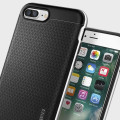 Spigen Neo Hybrid iPhone 7 Plus Case - Satin Silver