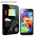 Spigen SGP Galaxy S5 GLAS.tR NANO SLIM Tempered Glass Screen Protector
